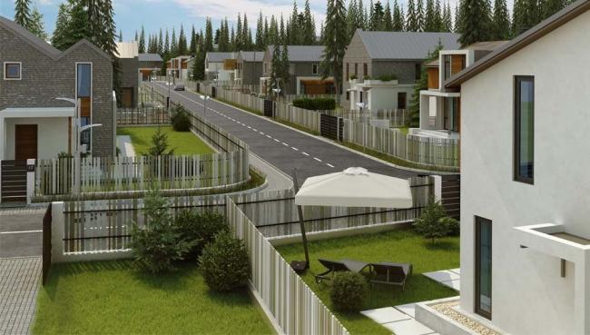 Коттеджный поселок «Радость». Изображение: novostroyki.org