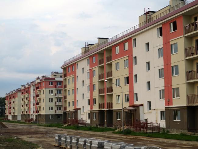 Жилой комплекс «Красные Зори», Петергоф. Фотография предоставлена компанией КНАУФ
