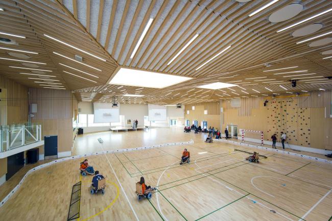 Спортивно-рекреационный центр Musholm. Фото: Jens Markus Lindhe
