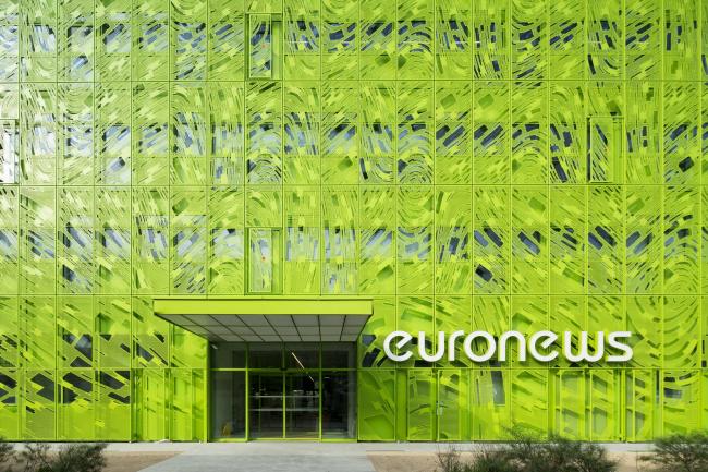 Международная штаб-квартира Euronews © Euronews – Jakob + MacFarlane – Nicolas Borel
