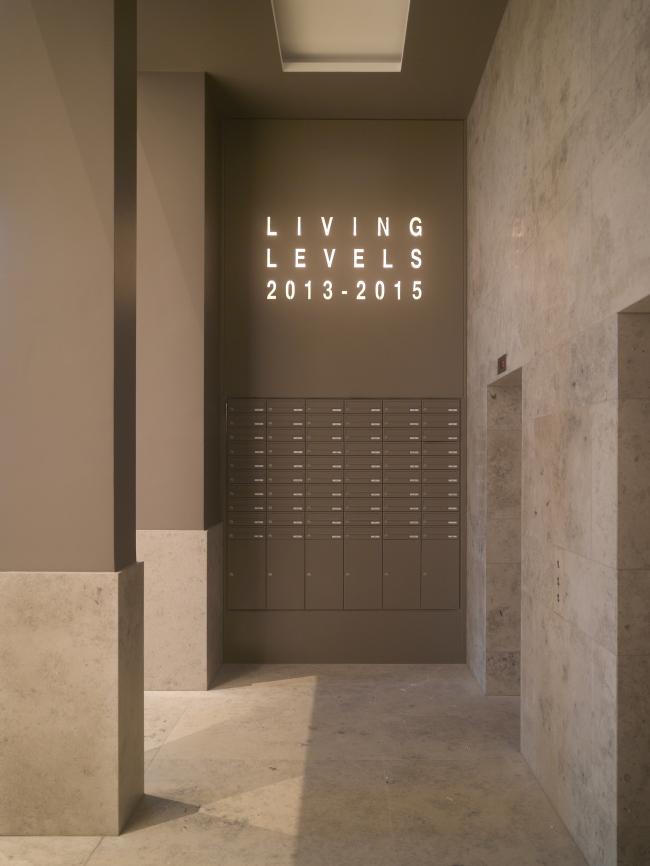 Жилой дом Living Levels–East Side Tower. Фотография © Roland Halbe