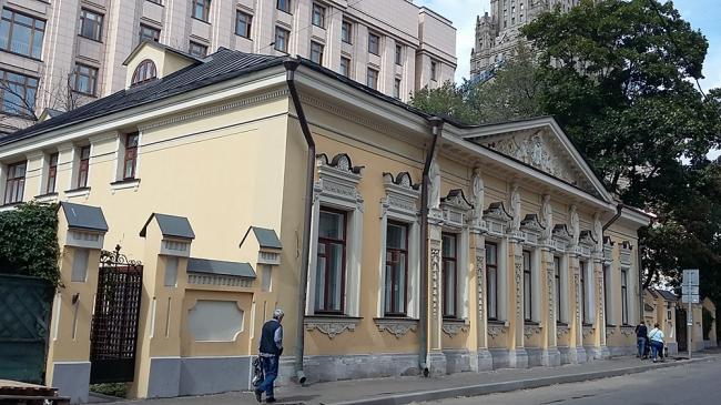 Городская усадьба Грачёва. Фотография предоставлена Анной Гавриловой