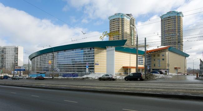 Центр фигурного катания Е.А.Чайковской, Москва, Строгино. Фотография с сайта aluwall.ru