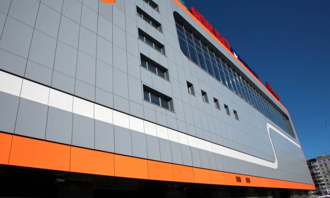Торговый центр «Витте Молл». Фотография с сайта aluwall.ru