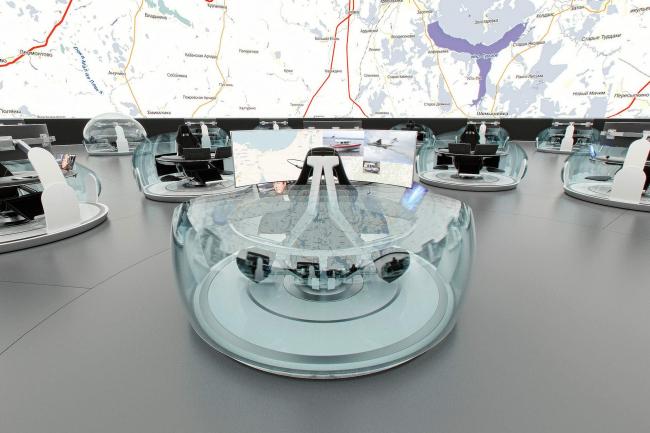 Концепция Национального центра управления в кризисных ситуациях МЧС РФ © Arch group
