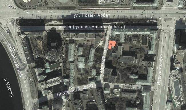 "Butterfly Hotel Complex. Location plan © ""Bogachkin & Bogachkin"" Bureau"