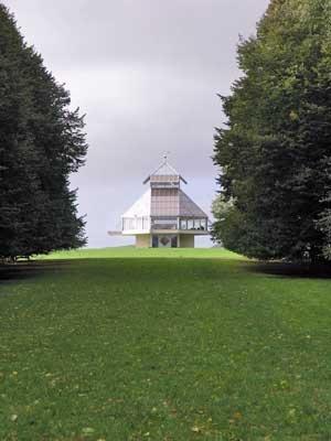 Парковый павильон в Уилтшире