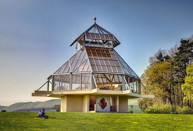 Парковый павильон в Уилтшире © Perry Y. Chin Architect
