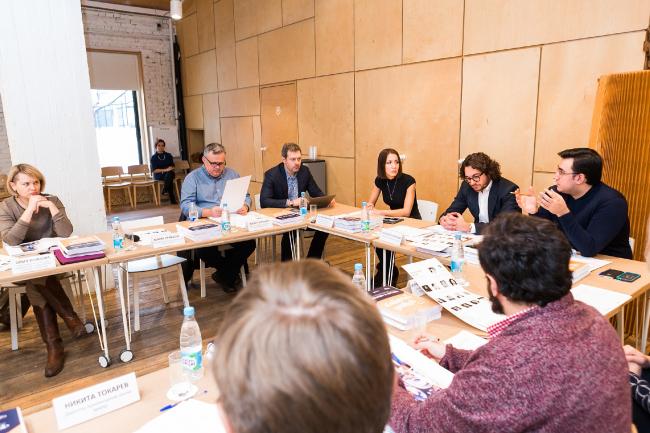 Заседание жюри. Фотография предоставлена коммуникационным агентством «Правила Общения»