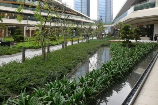 Комплекс Zorlu Center. Фотография с сайта zinco-greenroof.com