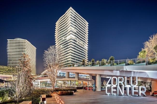 Комплекс Zorlu Center. Фотография с сайта zorlucenter.com