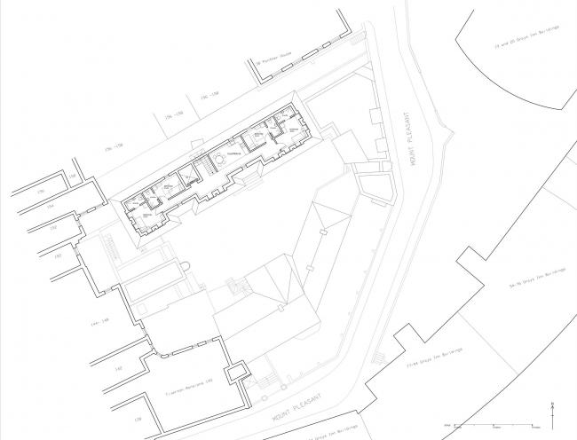 Общежитие для бездомных на улице Маунт-Плезант © Peter Barber Architects