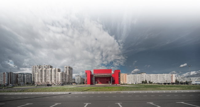 Youth hobby center. Construction, 2014 © Anatoly Stolyarchuk architectural studio