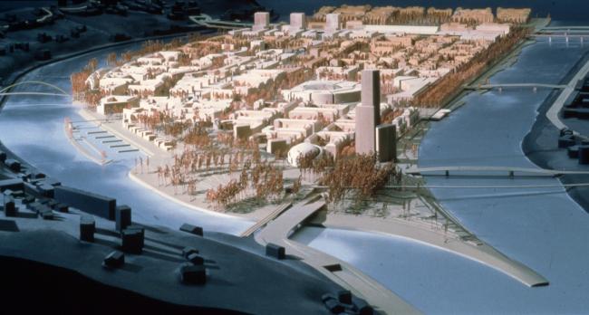 План О. Боигаса, Т. Мело и К. Мосбах. 1997-1999 гг. © Thierry Melot, AMA