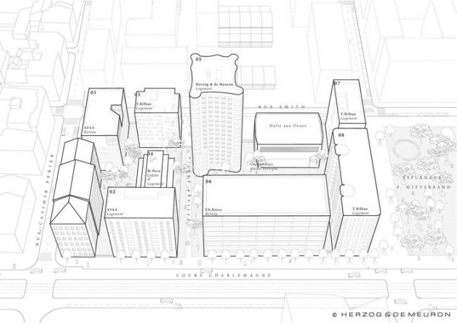 Квартал А3 (Фаза 2) © Herzog & de Meuron