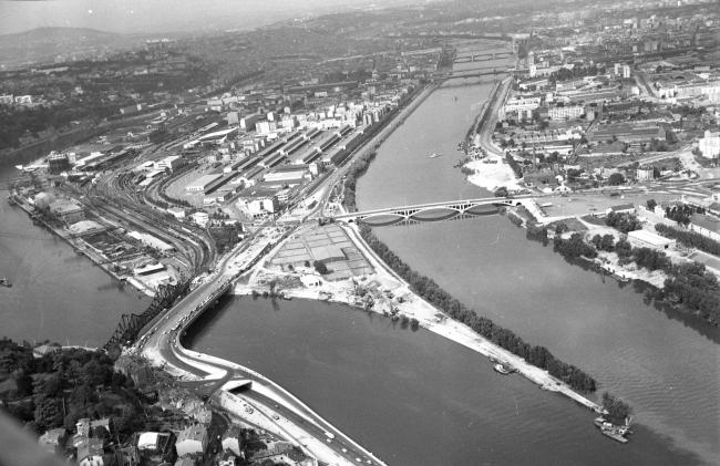 Территория района до реконструкции. Фото 1970-х гг. © Creative Commons / Bibliothèque municipale de Lyon