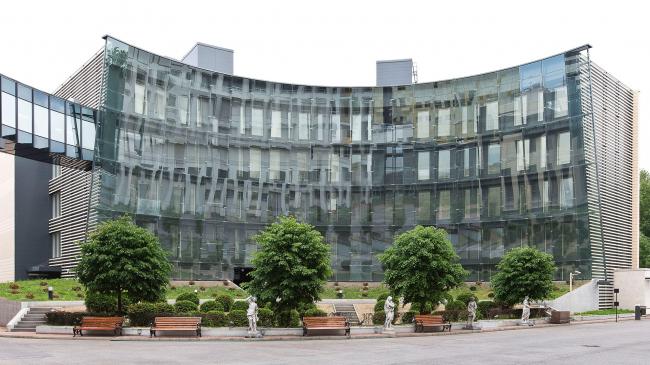 Фондохранилище государственного Эрмитажа. Реализация, 2012 © Архитектурная мастерская Трофимовых