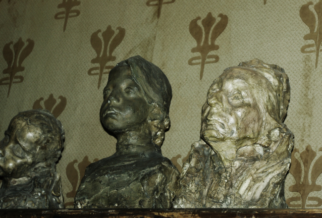 Sculptures by Anna Golubkina. Photo by Alla Pavlikova