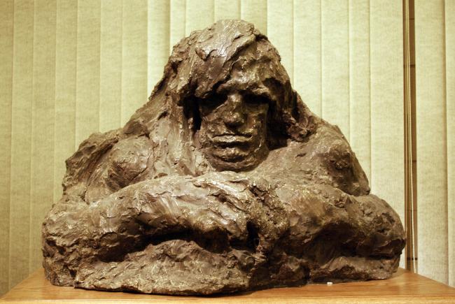 """""""Earth"""" sculpture by Anna Golubkina. Photo by Alla Pavlikova"""