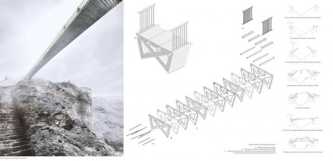 Проект Niall Mclaughlin Architects. Изображение с сайта competitions.malcolmreading.co.uk/tintagel