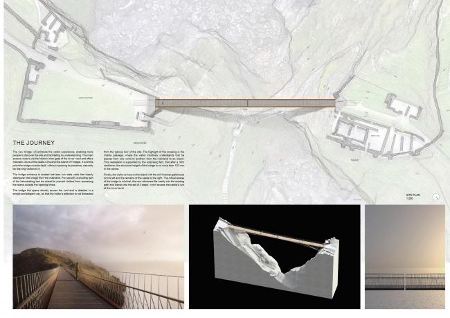 Проект Ney & Partners. Изображение с сайта competitions.malcolmreading.co.uk/tintagel