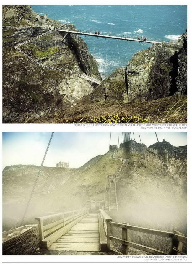 Проект Dietmar Feichtinger Architectes. Изображение с сайта competitions.malcolmreading.co.uk/tintagel