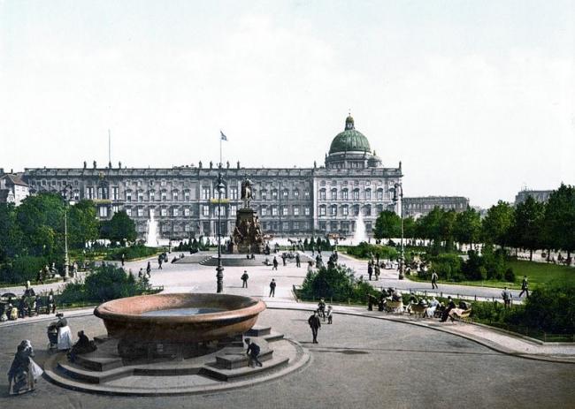 Берлинский городской дворец. Ок. 1900 г. Изображение из Библиотеки Конгресса США. Общественное достояние