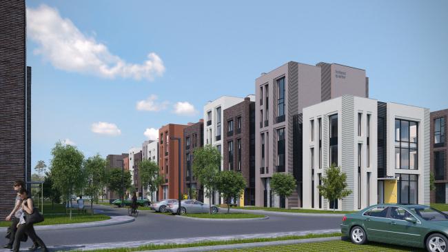 Жилой комплекс «Голландский квартал» в Ивантеевке