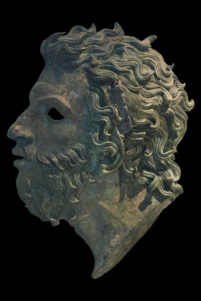 Голова Борея из собрания Археологического музея в Аквилее. Конец II в. н.э. © Gianluca Baronchelli