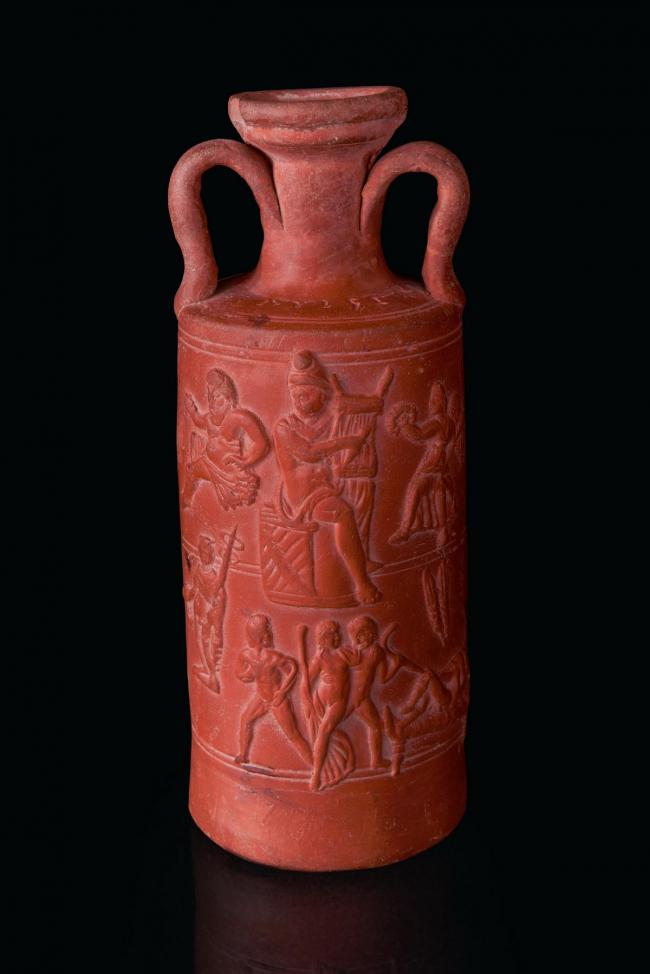 Сосуд из некрополя в Эль-Аудже. Собрание музея Бардо © Gianluca Baronchelli