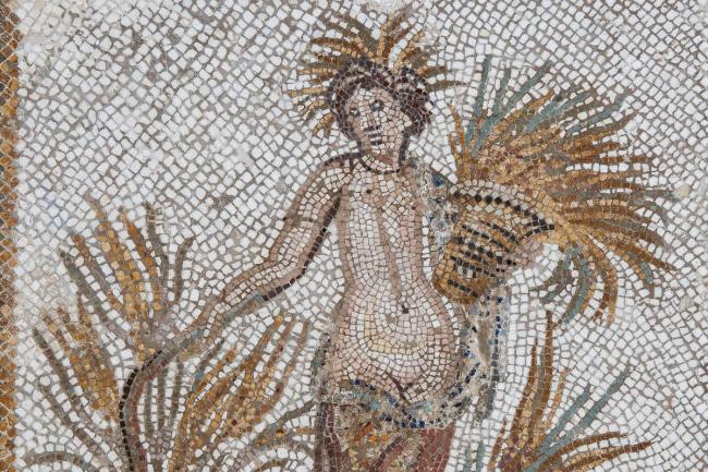 Церера. Мозаика из Удны. Собрание музея Бардо © Gianluca Baronchelli