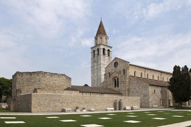 Ансамбль патриаршей базилики в Аквилее. IX-XI вв. © Gianluca Baronchelli