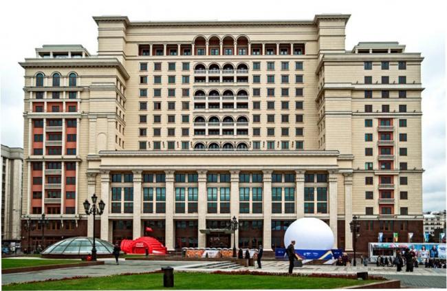 Гостиница «Москва». Фотография предоставлена компанией «ОртОст-Фасад»