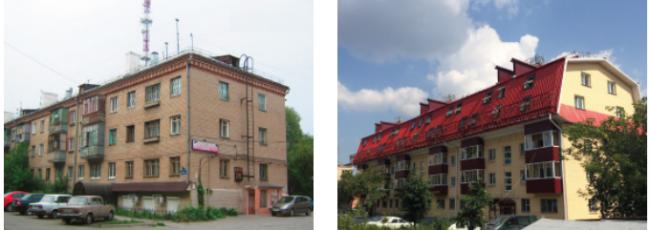 Челябинск. До и после реконструкции. Фото с сайта velux.ru