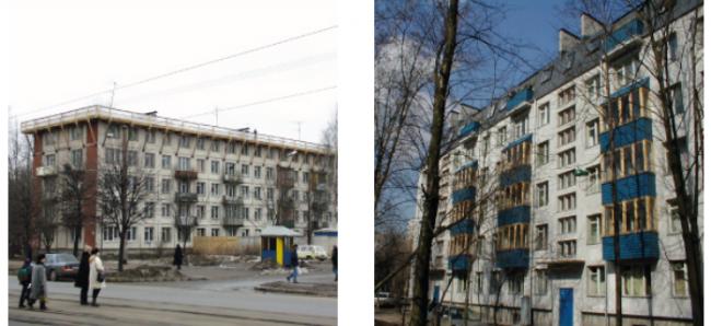 Санкт-Петербург. До и после реконструкции. Фото с сайта velux.ru