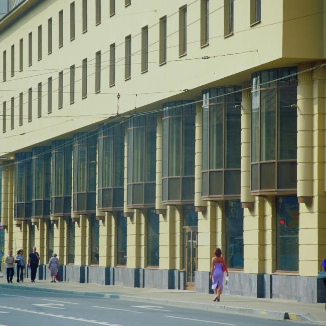 Центр досуга с апартаментами. Постройка, 2002 © Архитектурная мастерская А.А. Столярчука