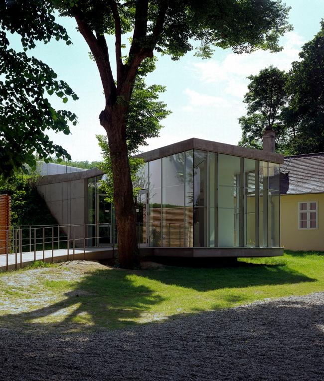 Музейный корпус мемориала Хельденберг © Margherita Spiluttini