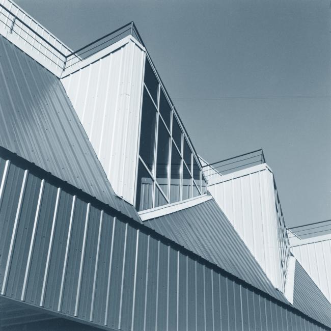 Крытый тренировочный каток. Постройка, 2000 © Архитектурная мастерская А.А. Столярчука
