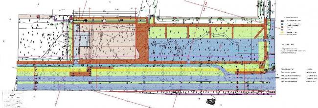 Торговый комплекс «Лента» на Выборгском шоссе. Генеральный план. Постройка, 2004 © Архитектурная мастерская А.А. Столярчука