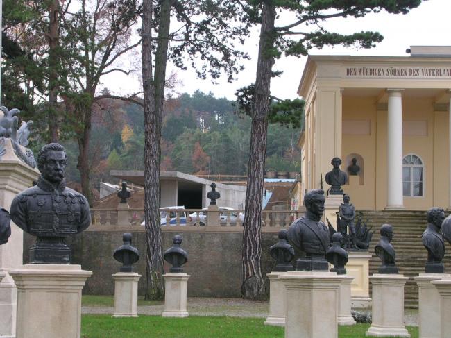 Мемориал Хельденберг. Изображение предоставлено бюро Peter Ebner and friends