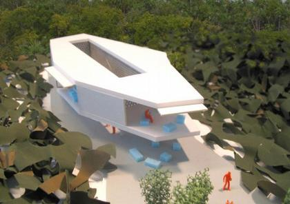 Дом Аниша Капура. Вариант «дом с двором»