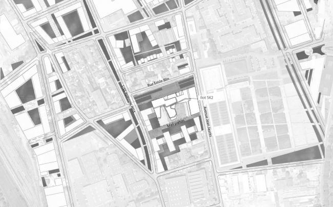 Школа имени Розалинд Франклин и студенческое общежитие © Chartier Dalix Architectes