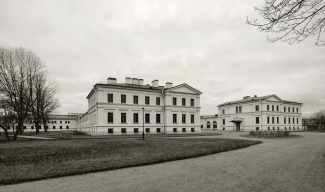 The main building of the Higher Management School of Saint Petersburg State University. Restoration and adjustment, 2014. Photo © Margarita Yavein, Tatyana Strekalova