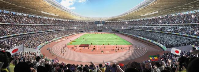 «Дизайн А» © Japan Sport Council
