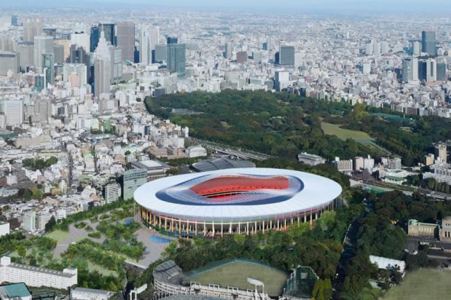 «Дизайн B» © Japan Sport Council