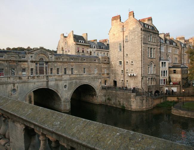 Город Бат. Англия. Конец XVIII в. Фотография © Сергей Эстрин