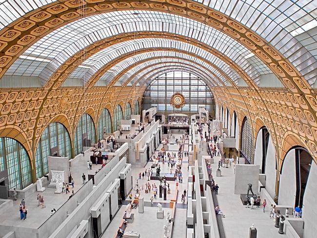 Музей Орсэ. Архитектор Г. Ауленти. 1981-1986