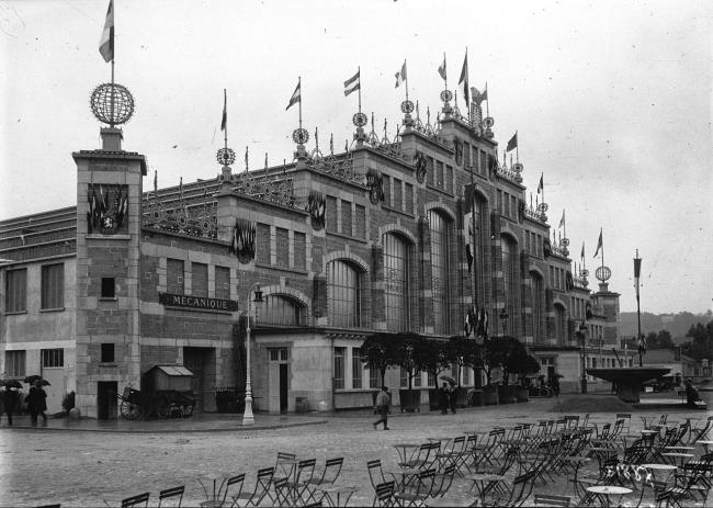 Зал Тони Гарнье, Лион. 1909-1913 © Bibliothèque nationale de France