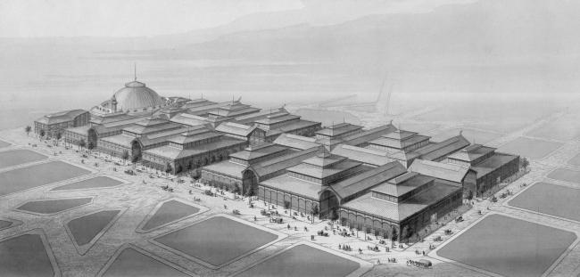 Центральный рынок Ле-Алль («Чрево Парижа»). Архитекторы В.Бальтар, Ф.Калле. 1850-1870