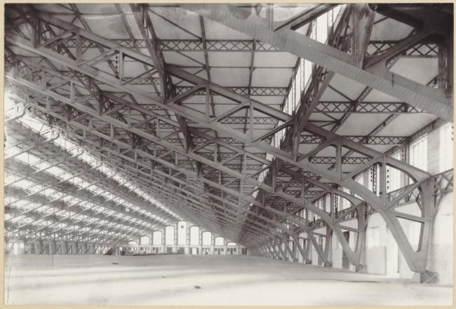 Зал Тони Гарнье, Лион. 1909-1913. Фото: Creative Commons / Bibliothèque municipale de Lyon